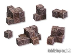 Stacks Of Crates - Set 1 (6)