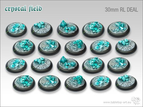 Crystal Field Bases - 30mm RL DEAL