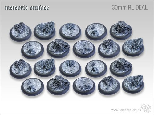 Meteoric Surface Bases - 30mm RL DEAL (20)