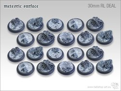 Meteoric Surface Bases - 30mm Round Lip DEAL (20)