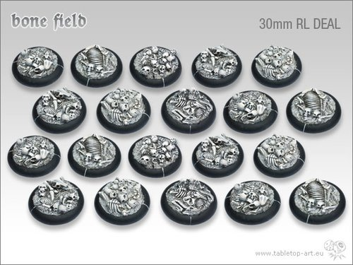 Bonefield Bases - 30mm RL DEAL (20)