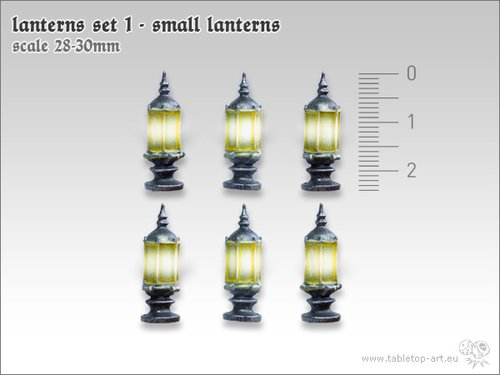 Lanterns Set 1 - Small Lanterns (6)