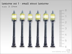 Lanterns set 1 - Small street lanterns