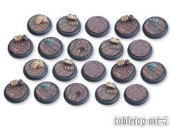 Pirate Ship Bases - 30mm RL DEAL (20)