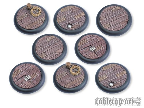 Pirate Ship Bases - 40mm RL DEAL (8)