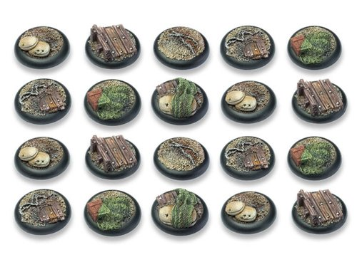 Trench Warfare Bases - 30mm Round Lip DEAL (20)