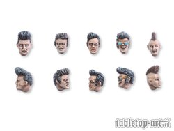 Rockabilly head set