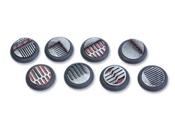 Space Dungeon Bases - 30mm Round Lip (5)