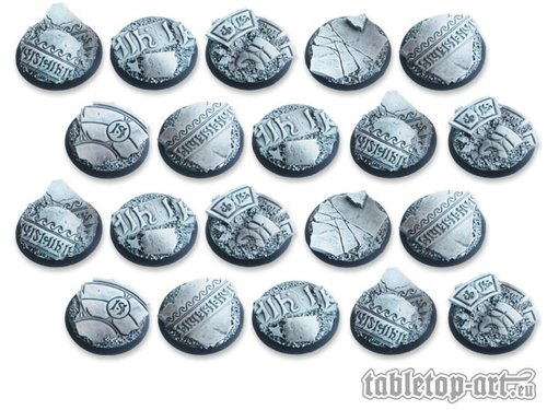 Ancestral Ruins Bases - 32mm DEAL (20)