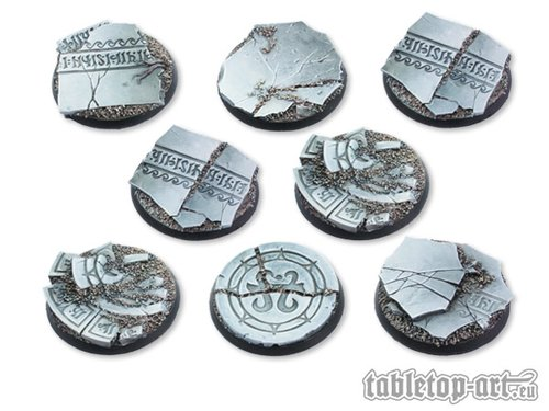 Ancestral Ruins Bases - 40mm DEAL (8)