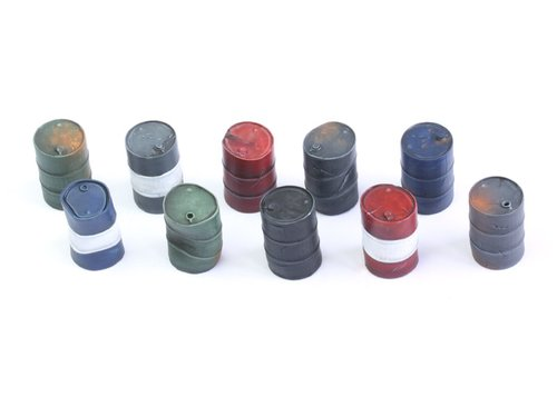 Oil Barrels - Set 2 (10)