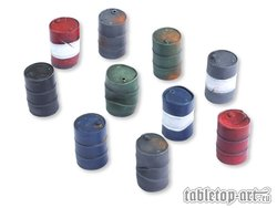 Oil barrels Set 2
