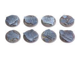 Shaleground bases - 25mm flat (8)