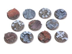 Viking raid Bases - 25mm flach (8)