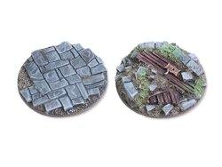 Viking raid Bases - 40mm flach (2)