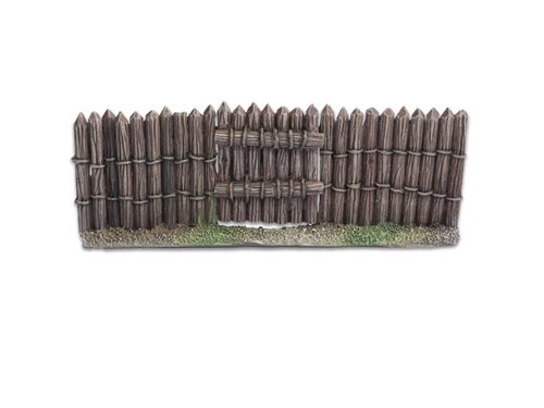 Wooden Stockade Gate