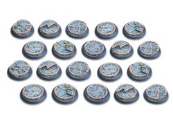 Mystic Circle Stones Base - 30mm Round Lip DEAL (20)