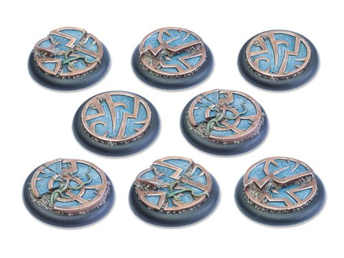 Mystic Circle Stones Base - 40mm RL DEAL (8)