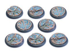 Mystic Circle Stones Base - 40mm Round Lip DEAL (8)