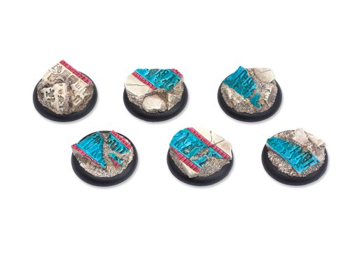 Temple of Isis Bases - 30mm Round Lip (5)
