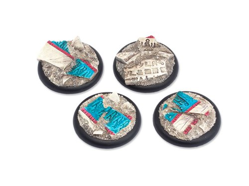 Temple of Isis Bases - 40mm RL (2)