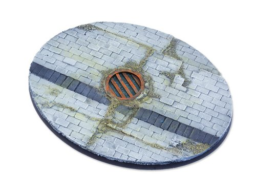 Flagstone Bases - 120mm Oval